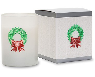 Primal Elements Icon Candle Christmas Wreath