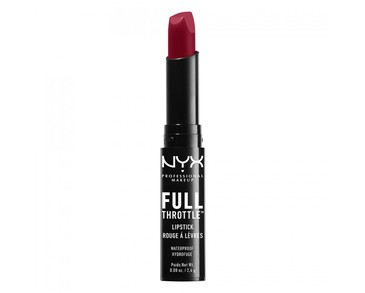 NYX PROF. MAKEUP Full Throttle Lipstick - Locked