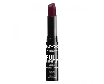 NYX PROF. MAKEUP Full Throttle Lipstick - Night Crawler