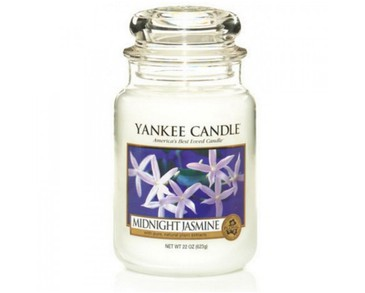 Yankee Candle Classic Large Jar Midnight Jasmine Candle 623g