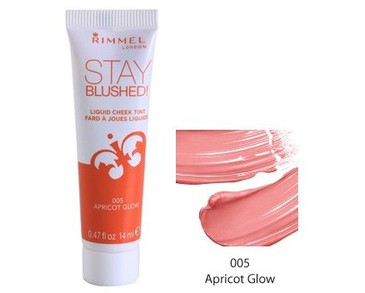 Rimmel Stay Blushed! 005 Apricot Glow 14ml