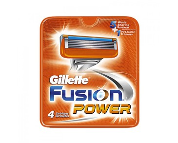 Gillette Fusion Power 4-pack