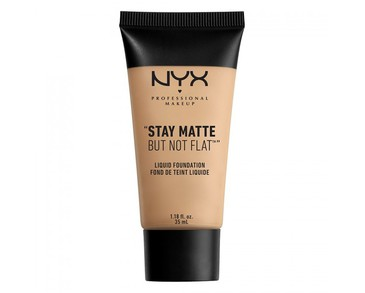 NYX PROF. MAKEUP Stay Matte Not Flat Liquid Foundation - Nude