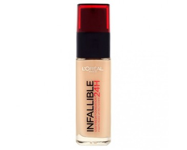LOreal Infallible Foundation 24H 140 Golden Beige 30ml
