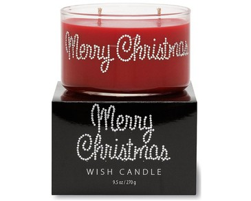 Primal Elements Wish Candle Merry Christmas