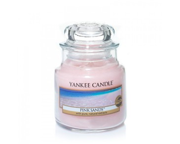 Yankee Candle Classic Medium Jar Pink Sands Candle 411g