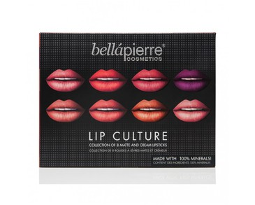 Bellapierre Lip Culture Collection 8 Lipsticks