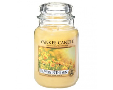 Yankee Candle Classic Large Jar Flowers In The Sun Candle 623g