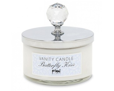 Primal Elements Vanity Candle Butterfly Kiss