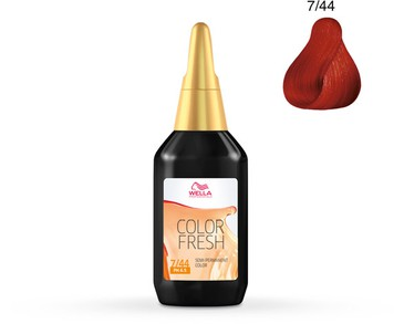 Wella Color Fresh 75ml 7/44
