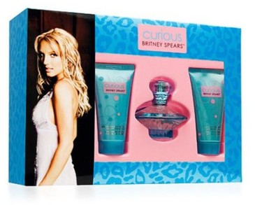 Giftset Britney Spears Curious Edp 30ml+ Body lotion 50ml + Shower Gel 50ml