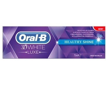 Oral-B 3D White Luxe Healthy Shine Toothpaste 75ml