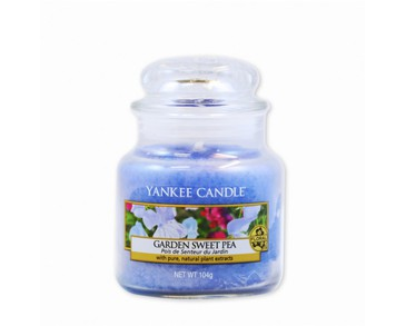 Yankee Candle Classic Small Jar Garden Sweet Pea Candle 104g