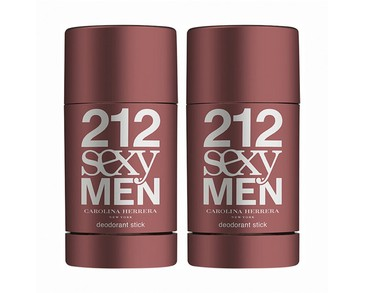 2-pack Carolina Herrera 212 Sexy Men Deostick 75ml