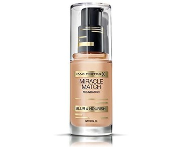 Max Factor Miracle Match Foundation Natural 50