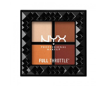NYX PROF. MAKEUP Full Throttle Shadow Palette Color Riot