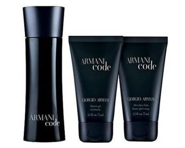 Giftset Armani Code Pour Homme 75ml +After Shave Balm+Shower Gel