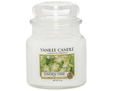 Yankee Candle Classic Medium Jar Linden Tree Candle 411g