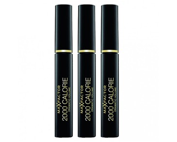 3-pack Max Factor 2000 Calorie Mascara Black 9ml