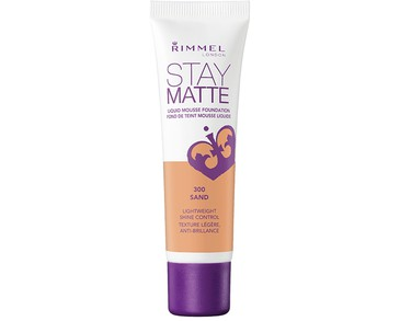 Rimmel Stay Matte Foundation 300 Sand 30ml