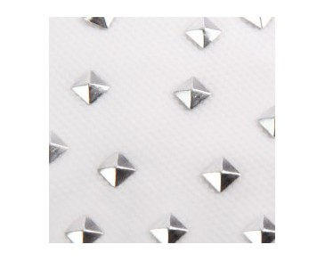 Charmsies Silver Pyramid Studs Wild