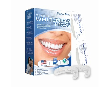 Pristine White Pre-Filled Whitening Trays