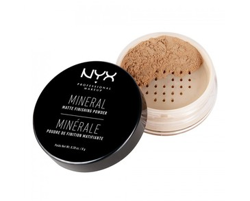 NYX PROF. MAKEUP Mineral Finishing Powder Medium/Dark