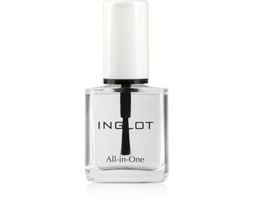 INGLOT ALL-IN-ONE TRANSLUCENT NAIL ENAMEL 19