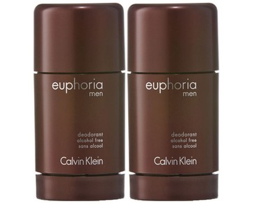 2-pack Calvin Klein Euphoria For Men Deostick 75ml