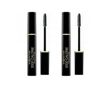 2-pack Max Factor 2000 Calorie Mascara Black 9ml