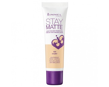 Rimmel Stay Matte Foundation 100 Ivory 30ml