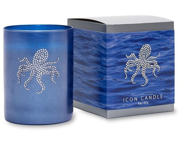 Primal Elements Icon Candle Octopus