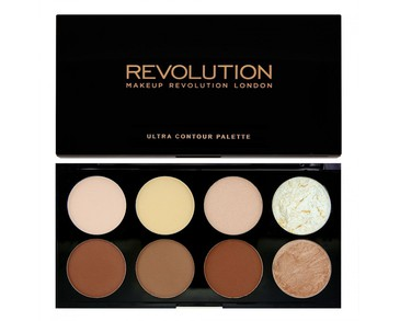 Makeup Revolution Ultra Contour Palette Medium Dark