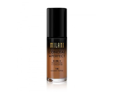 Milani Conceal+Perfect Liquid Foundation - 14 Golden Toffee