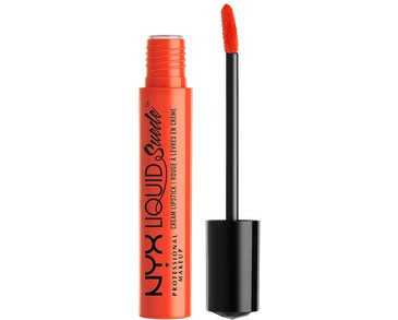 NYX PROF. MAKEUP Liquid Suede Cream Lipstick - Orange County
