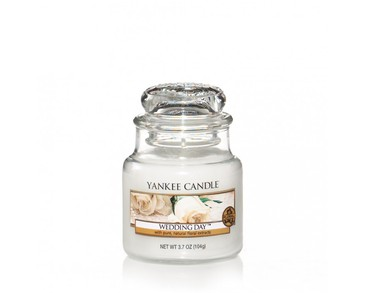 Yankee Candle Classic Small Jar Wedding Day Candle 104g