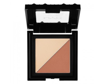 NYX PROF. MAKEUP Cheek Contour Duo Palette Perfect Match