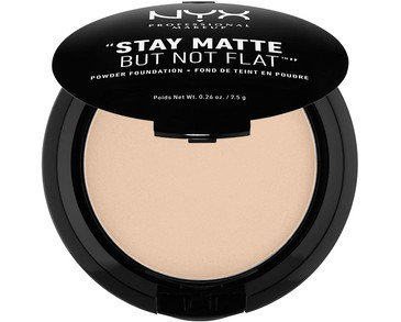 NYX PROF. MAKEUP Stay Matte Not Flat Powder Foundation - Nude