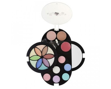 Makeup Box Fashion Flower Compact