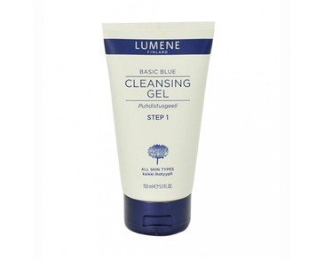 Lumene Basic Blue Cleansing Gel Step 1 150ml - All Skin Types