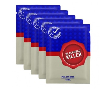 5-pack Blackhead Killer Peal Off Mask 10ml