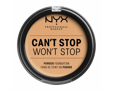 NYX PROF. MAKEUP Can't Stop Won't Stop Powder Foundation - True Beige