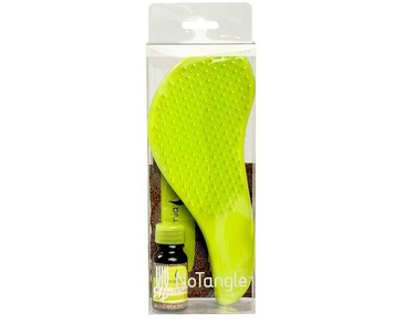Giftset Macadamia Natural Oil No Tangle Brush