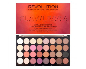 Makeup Revolution Ultra Eyeshadow Palette - Flawless 4