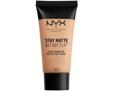 NYX PROF. MAKEUP Stay Matte Not Flat Liquid Foundation - Natural