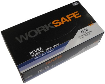 Worksafe Vinyl Gloves Powder Large