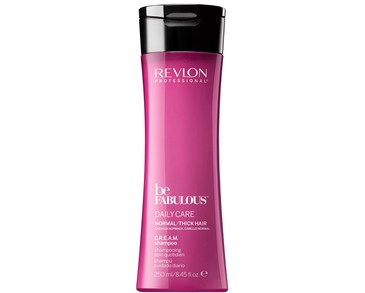 Revlon Be Fabulous Normal/Thick Hair Cream Shampoo 250ml