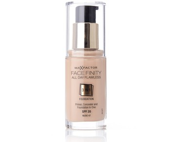 Max Factor Facefinity 3 In 1 Foundation 47 Nude