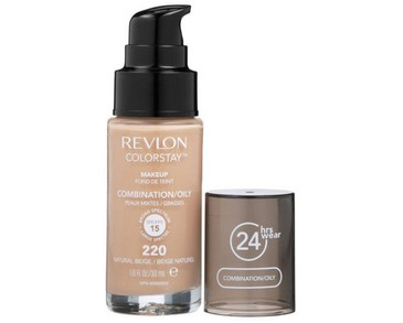 Revlon Colorstay Makeup Combination/Oily Skin - 220 Natural Beige 30ml