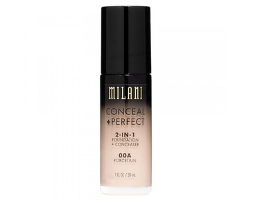 Milani Conceal+Perfect Liquid Foundation - 00A Porcelain